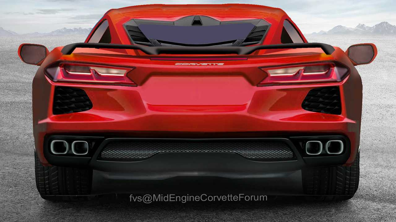 detailed c8 corvette renderings imagine the supercar u0026 39 s