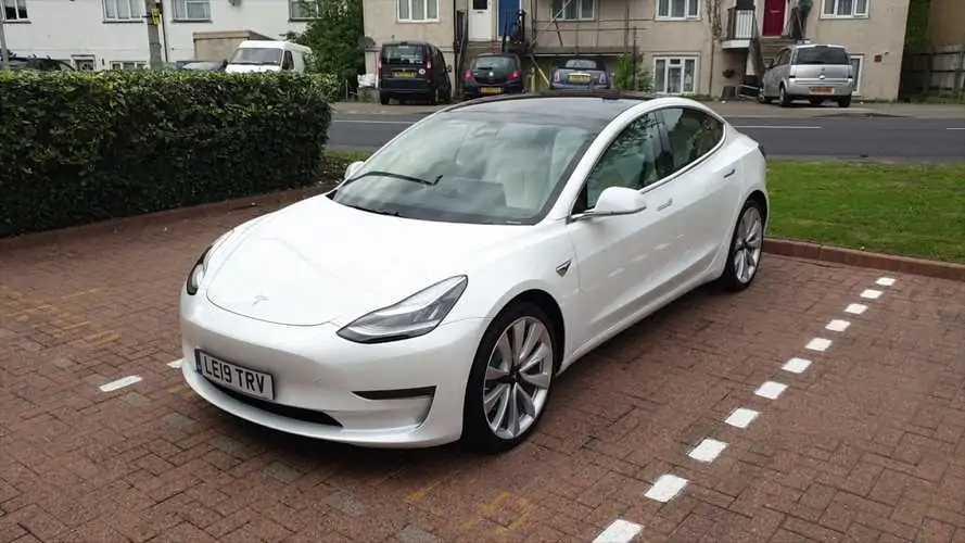 Tesla Model 3 in UK (Source: R Symons Ltd)