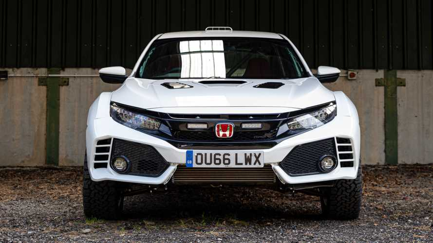 Rally-ready Honda Civic Type R one offs revealed in Millbrook