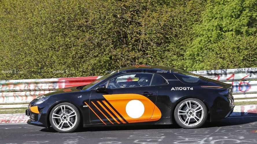 Nuevas fotos espía de un Alpine A110 muy especial