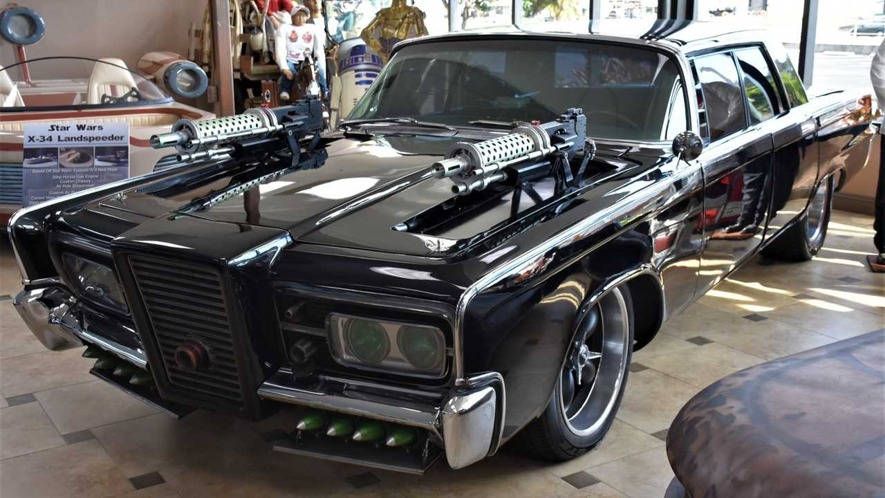 1966 Black Beauty Stunt Car