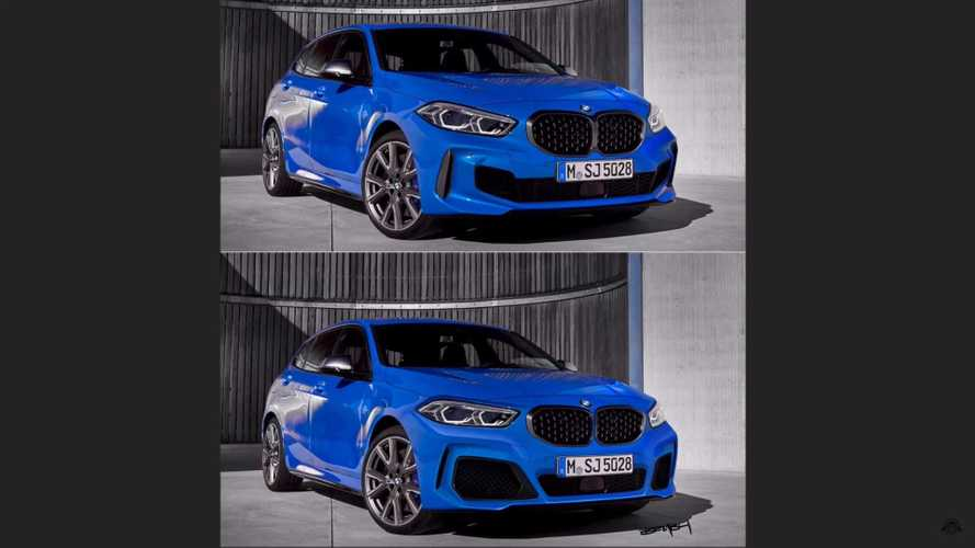 BMW 1 Series Facelift By The Sketch Monkey