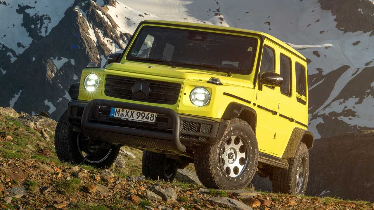 Mercedes-Benz G-Class by Delta4x4 lead image