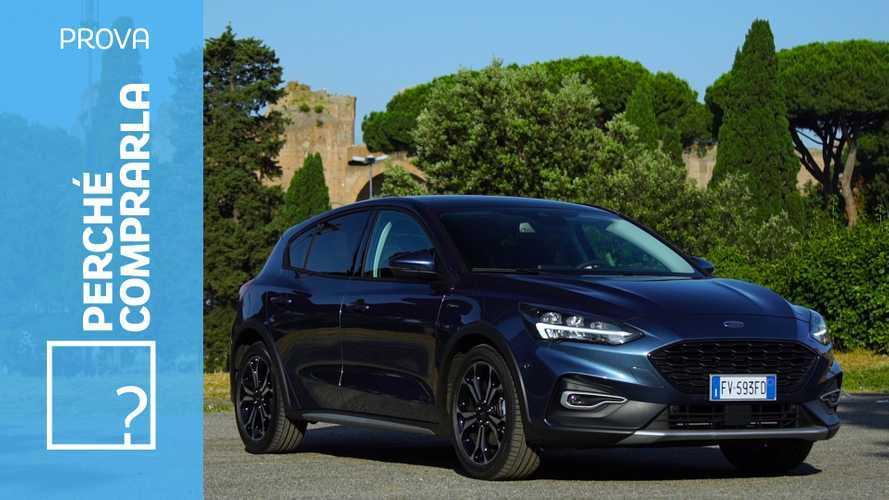Ford Focus Active, perché comprarla… e perché no