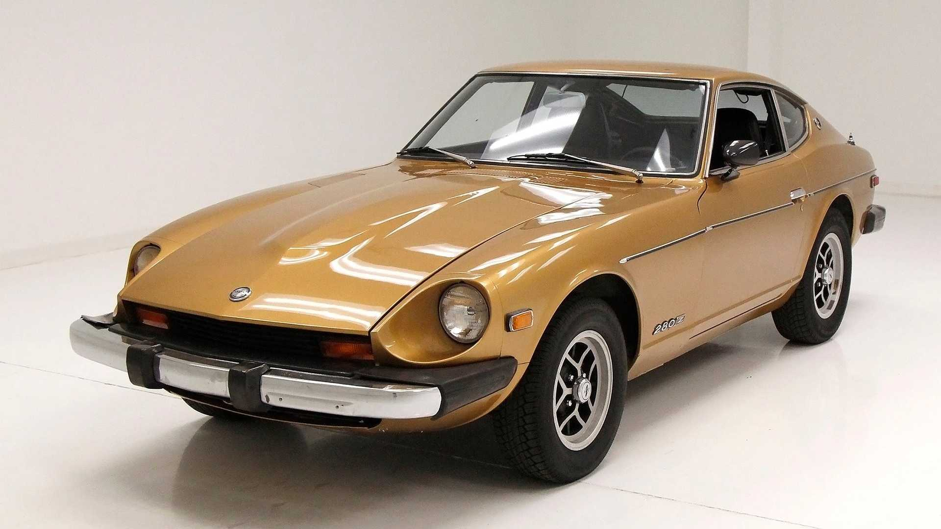 "[""Go For Gold With This 1975 Datsun 280Z""]"