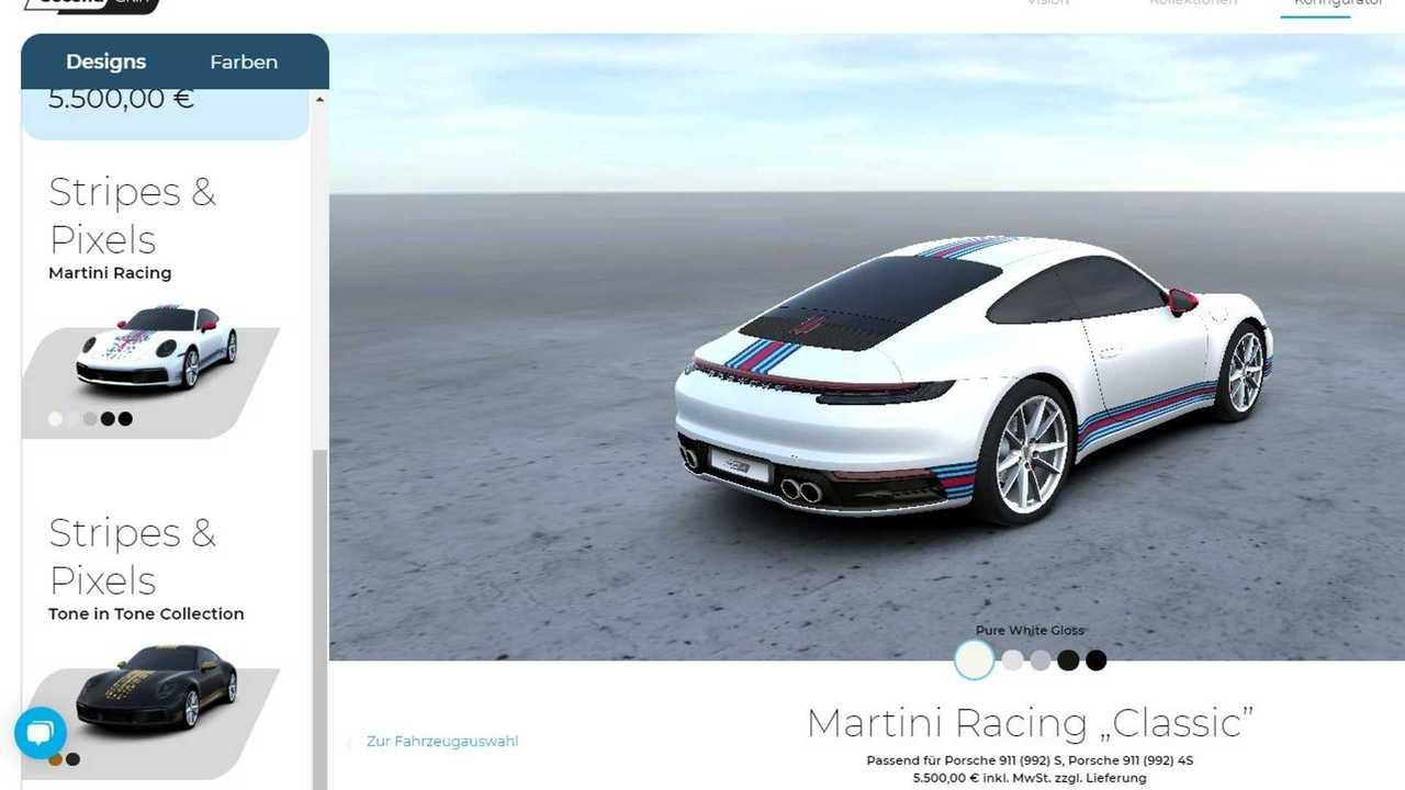 Porsche Second Skin