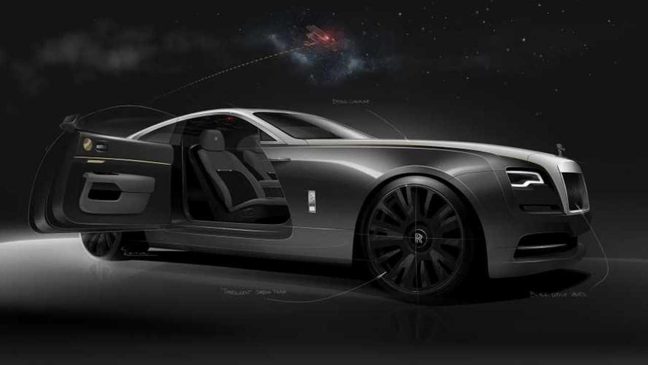 Rolls-Royce Wraith Eagle VIII Sketches