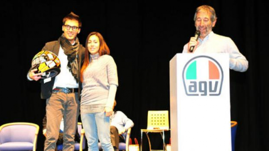 AGV: oltre 16 mila euro a favore della Fondazione Simoncelli