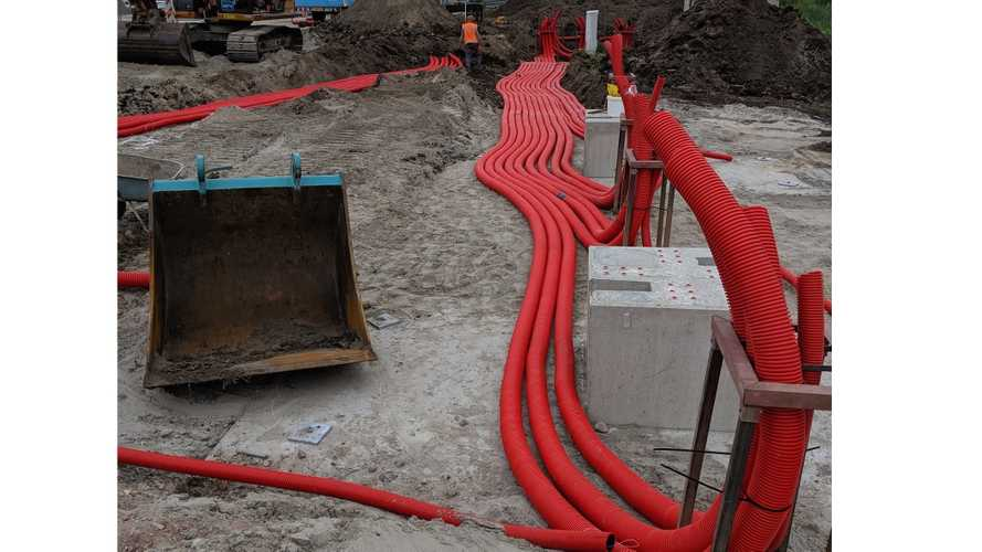 Fastned: 1,000 Meters Of Cable Ducts For A Single Charging Station