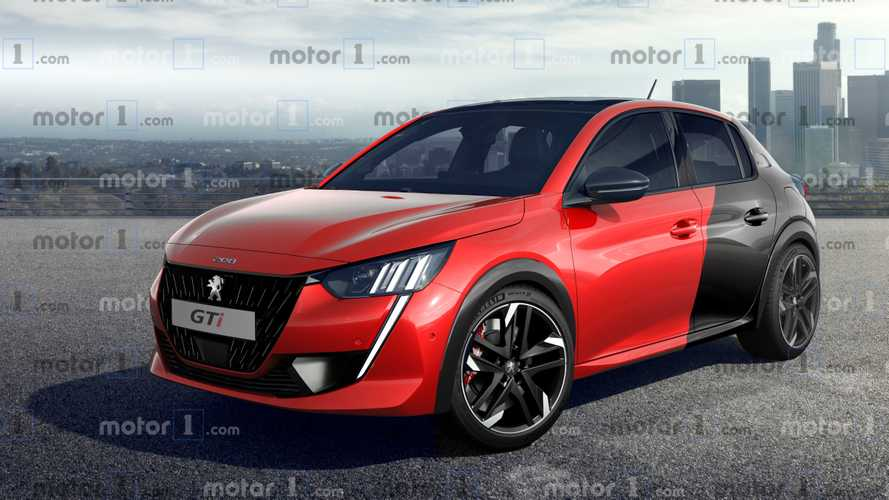 Peugeot 208 GTi Rendering Previews A Sexy Hot Hatch From France