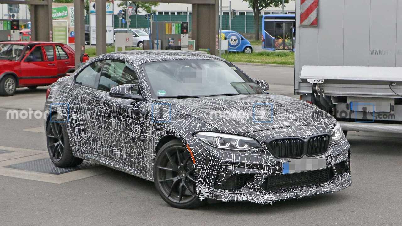 BMW M2 CS nuevas fotos espía