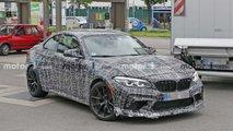 BMW M2 CS (2020) Erlkönig außen und innen erwischt