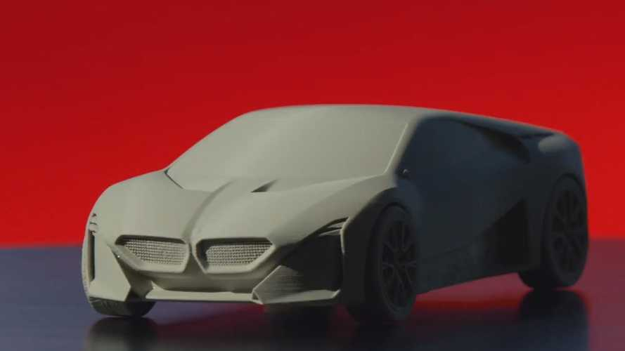 Imprimez votre BMW Vision M Next en 3D !