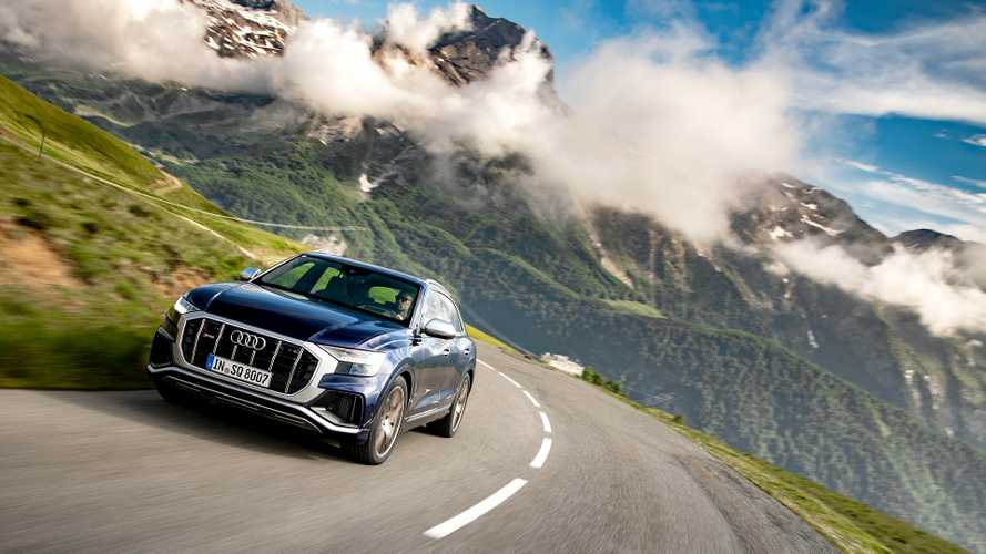 Audi SQ8 с мощным дизелем оценили в рублях