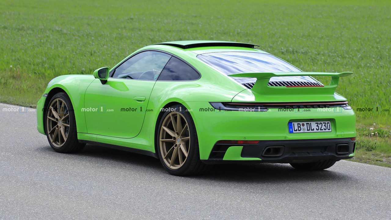 Mysterious Porsche 911 prototype