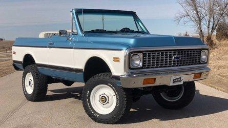 1972 chevrolet k5 blazer is a perfect resto mod off roader