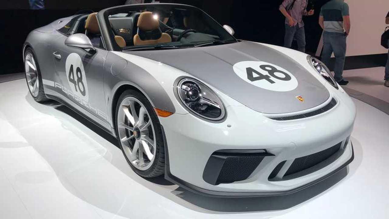 porsche 911 speedster mit heritage design paket deb tiert in new york. Black Bedroom Furniture Sets. Home Design Ideas