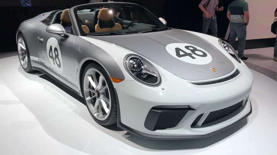 Porsche 911 Speedster mit Heritage Design Paket debütiert in New York