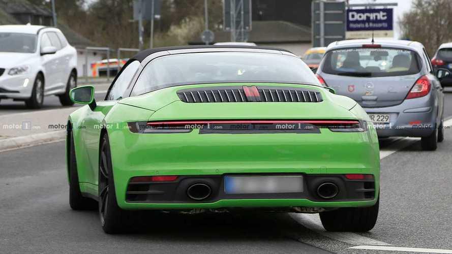 La prochaine Porsche 911 Targa aperçue une nouvelle fois