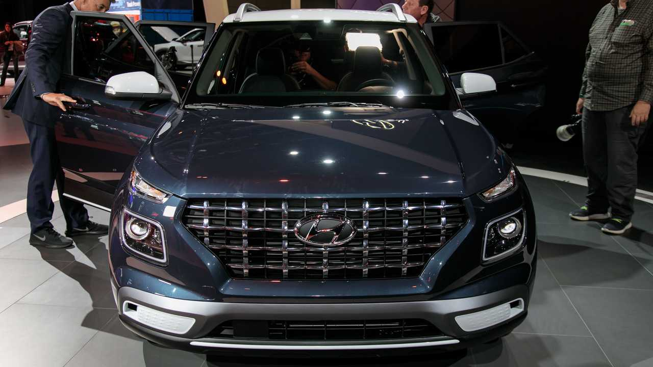 2020 Hyundai Venue at the New York Auto Show