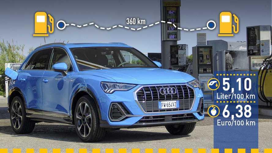 Tatsächlicher Verbrauch: Audi Q3 2.0 TDI mit 190 PS im Test