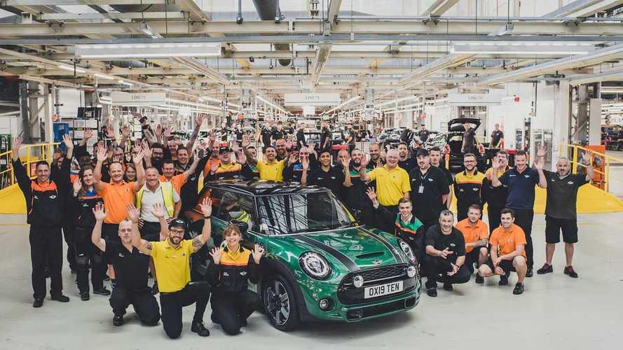 MINI celebra la producción de su modelo 10 millones