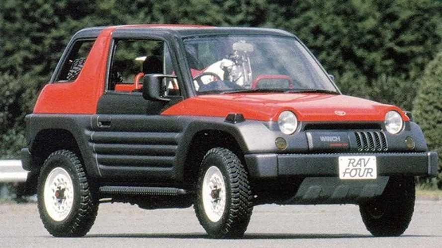 1989 Toyota RAV Four Concept