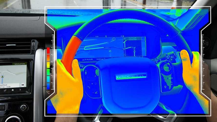 Sensorisches Lenkrad von Jaguar Land Rover informiert per Wärme