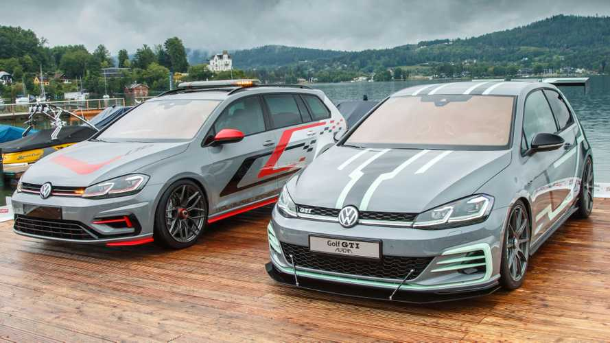 Volkswagen Golf R Estate e Golf GTI Aurora, le one-off da 400 CV