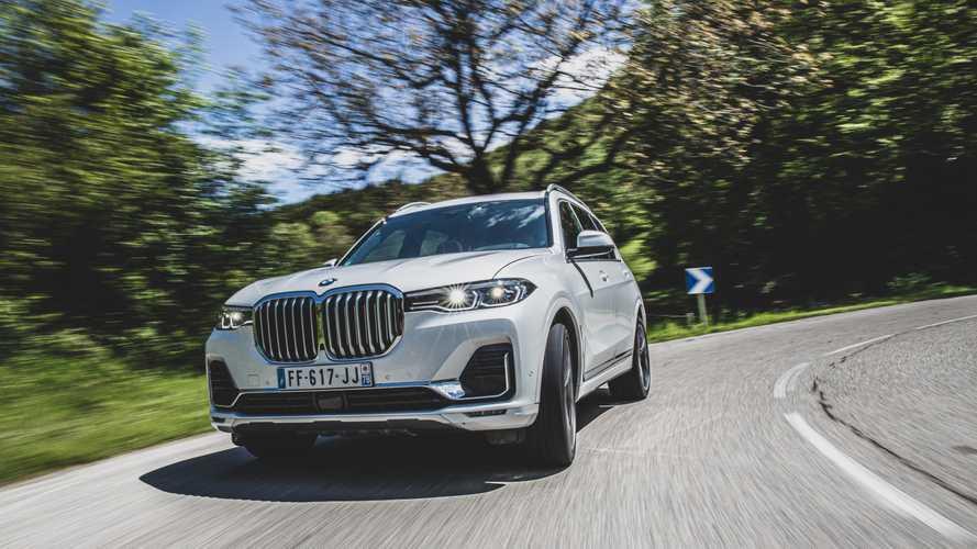 Hidrogén-hajtású változatot is kaphat a BMW X7?