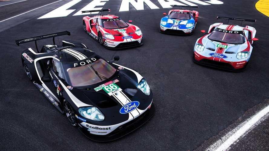 Ford Reveals Retro Liveries For WEC Farewell At Le Mans