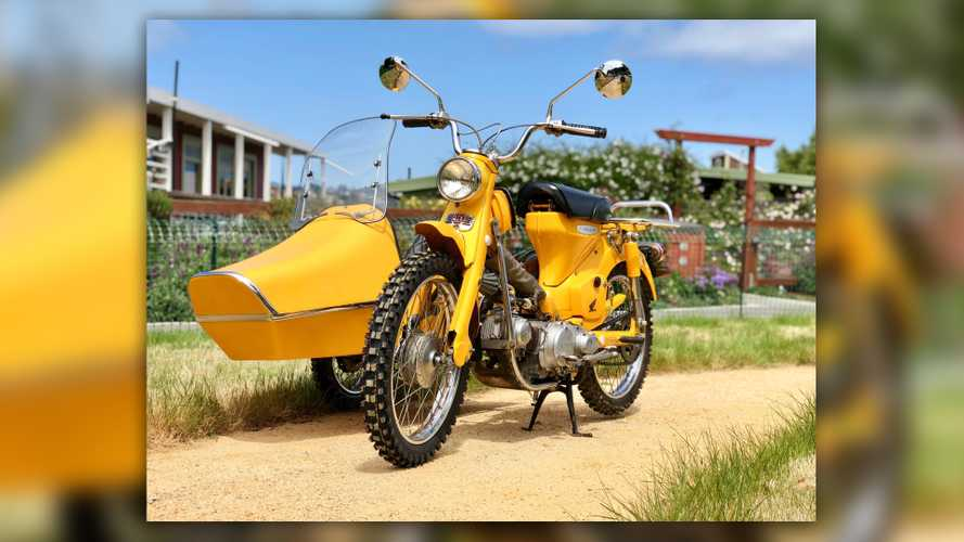 Auction Alert: 1967 Honda CT90 With Sidecar