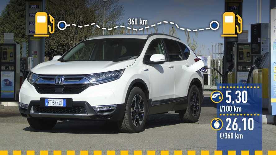 Honda CR-V Hybrid 2019: prueba de consumo real
