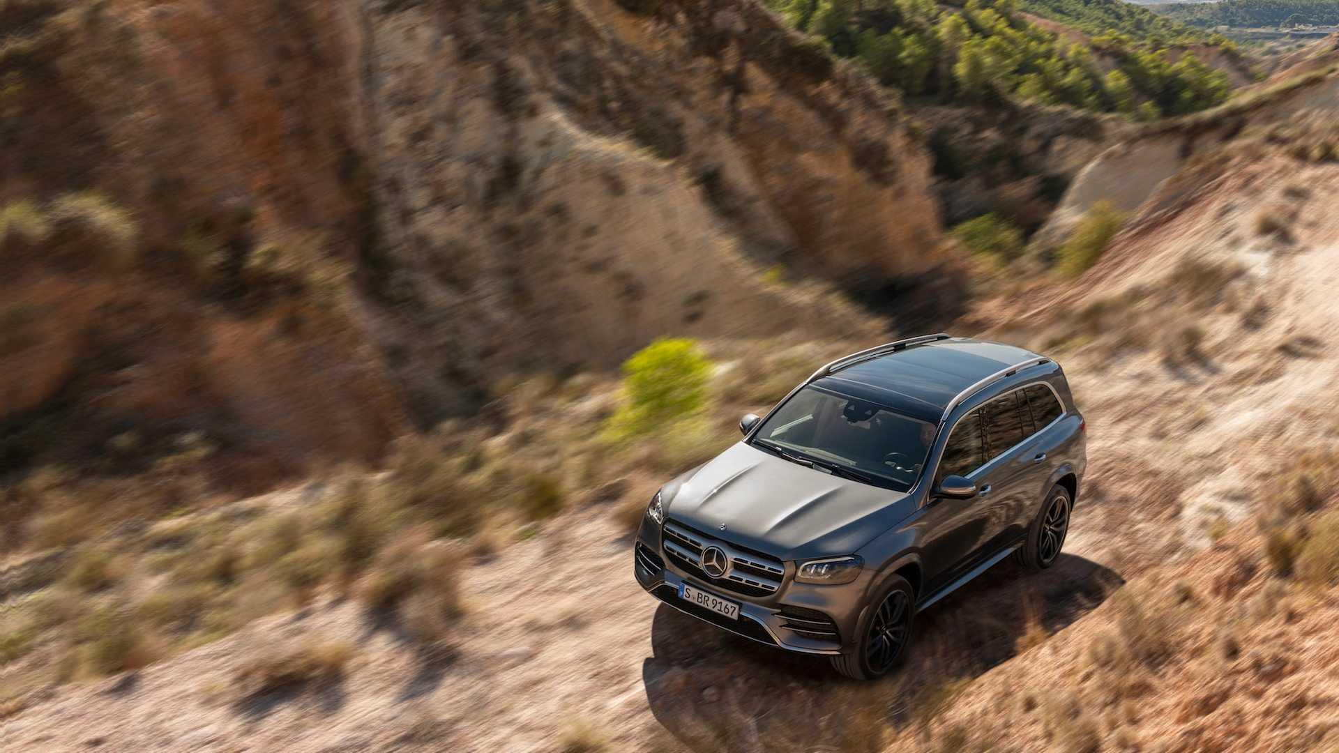 Mercedes-Benz показал новый кроссовер GLS