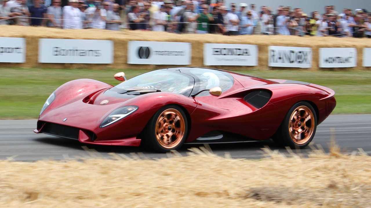 De Tomaso P72 a Goodwood Festival of Speed 2019