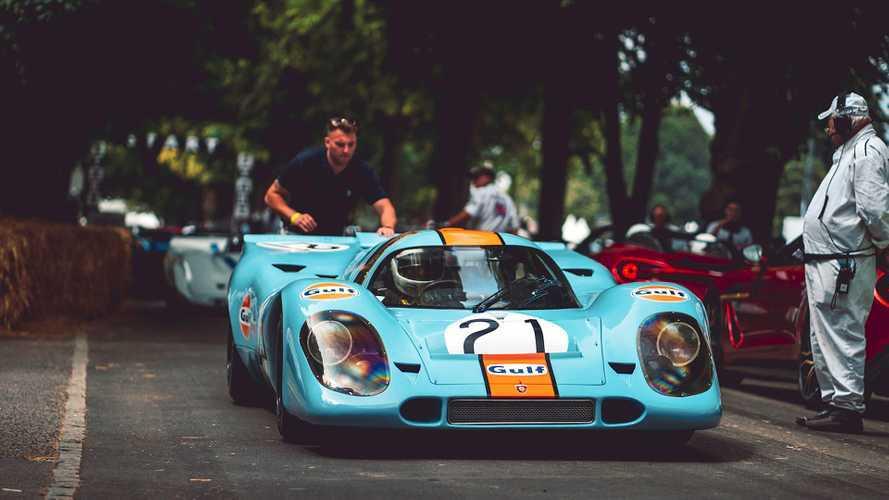 Porsche in Goodwood: Die schönsten Fotos