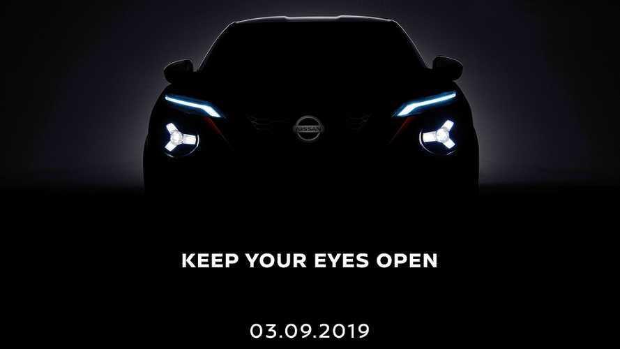 Nuova Nissan Juke, il teaser mostra i fari