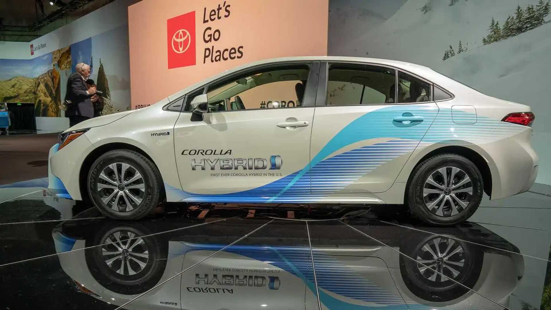 Toyota Corolla Hybrid Debuts As Normal Looking Prius Update