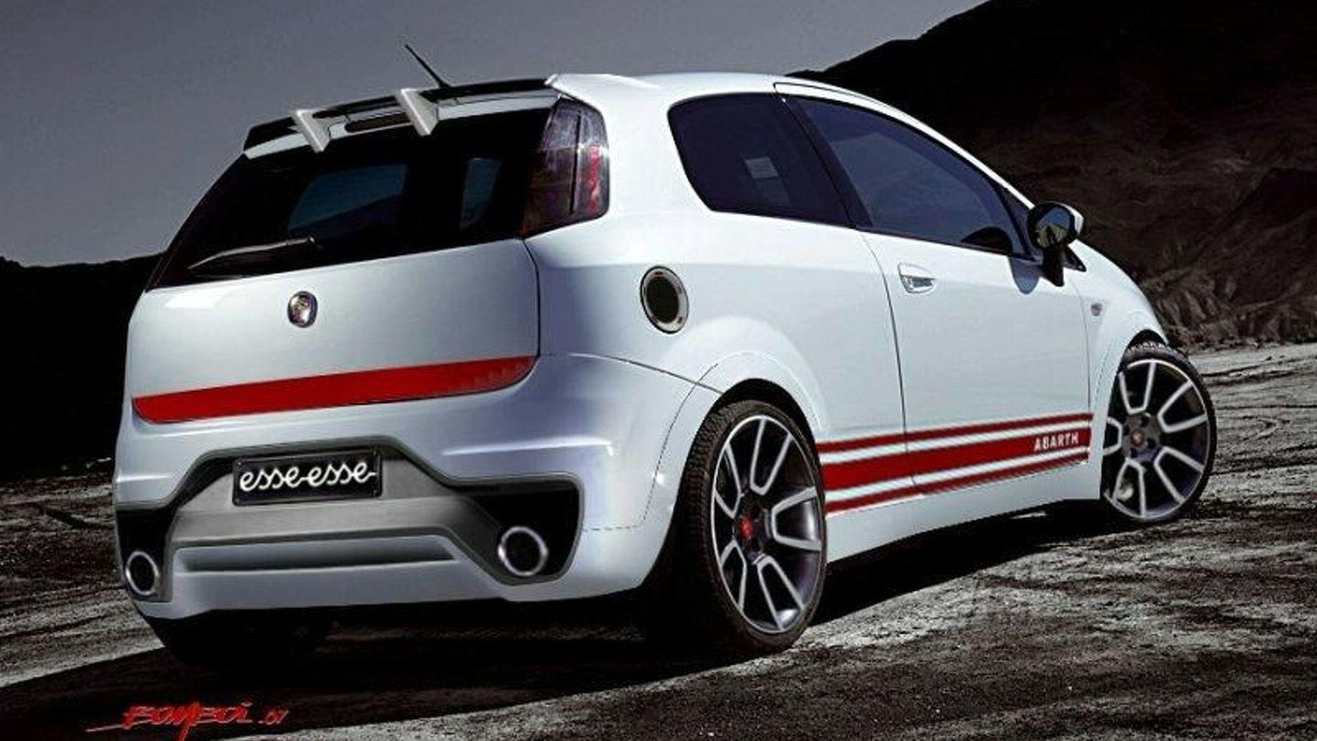 Fiat Grande Punto Abarth Ss Concept Debut In Frankfurt