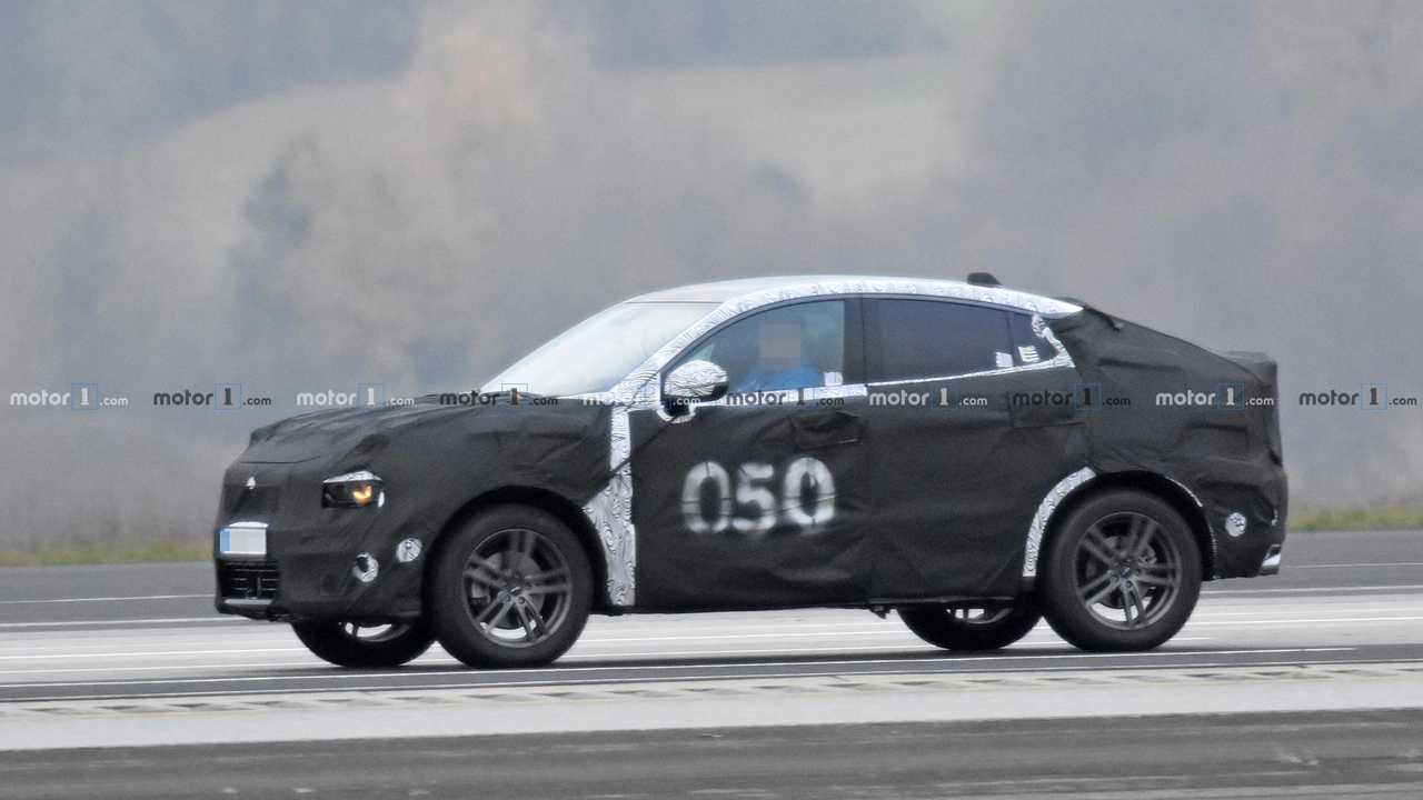 Lynk & Co 01 Coupe Spy Shots