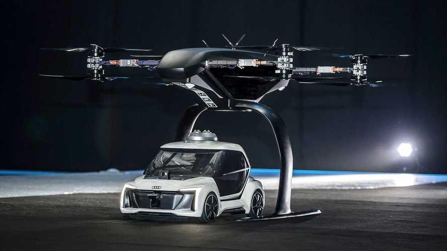Audi, Airbus und Italdesign testen Flugtaxi-Studie