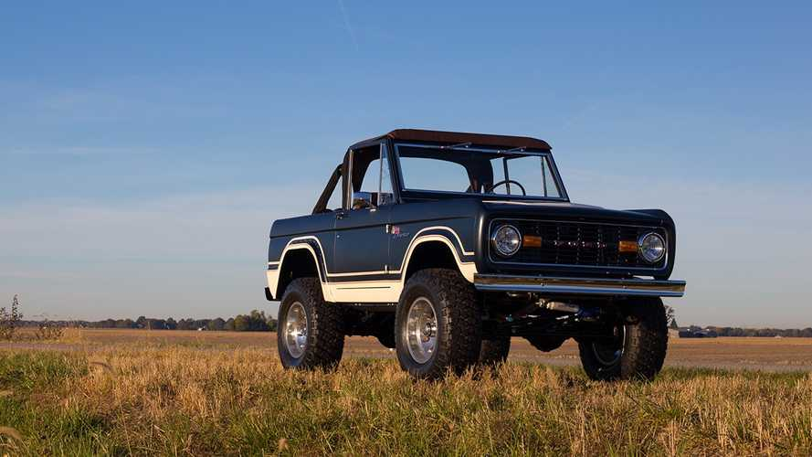 Ford Is Licensing Brand New First-Generation Bronco Builds