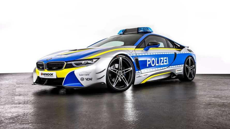 BMW i8 als Polizeiauto von AC Schnitzer
