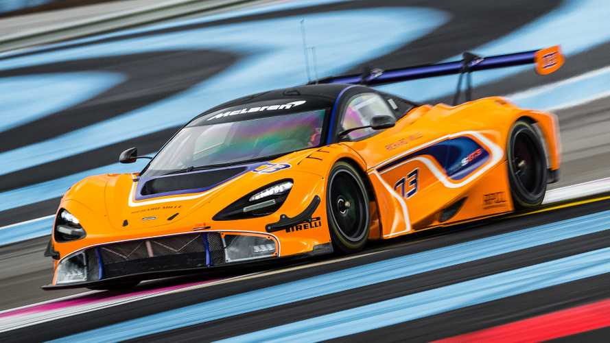McLaren to give 720S GT3 race debut next month