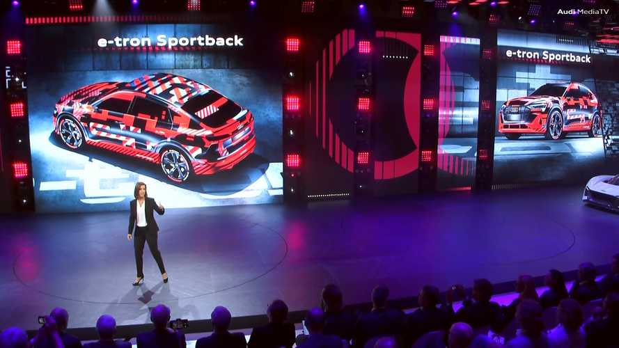 Audi E-Tron Sportback teasers
