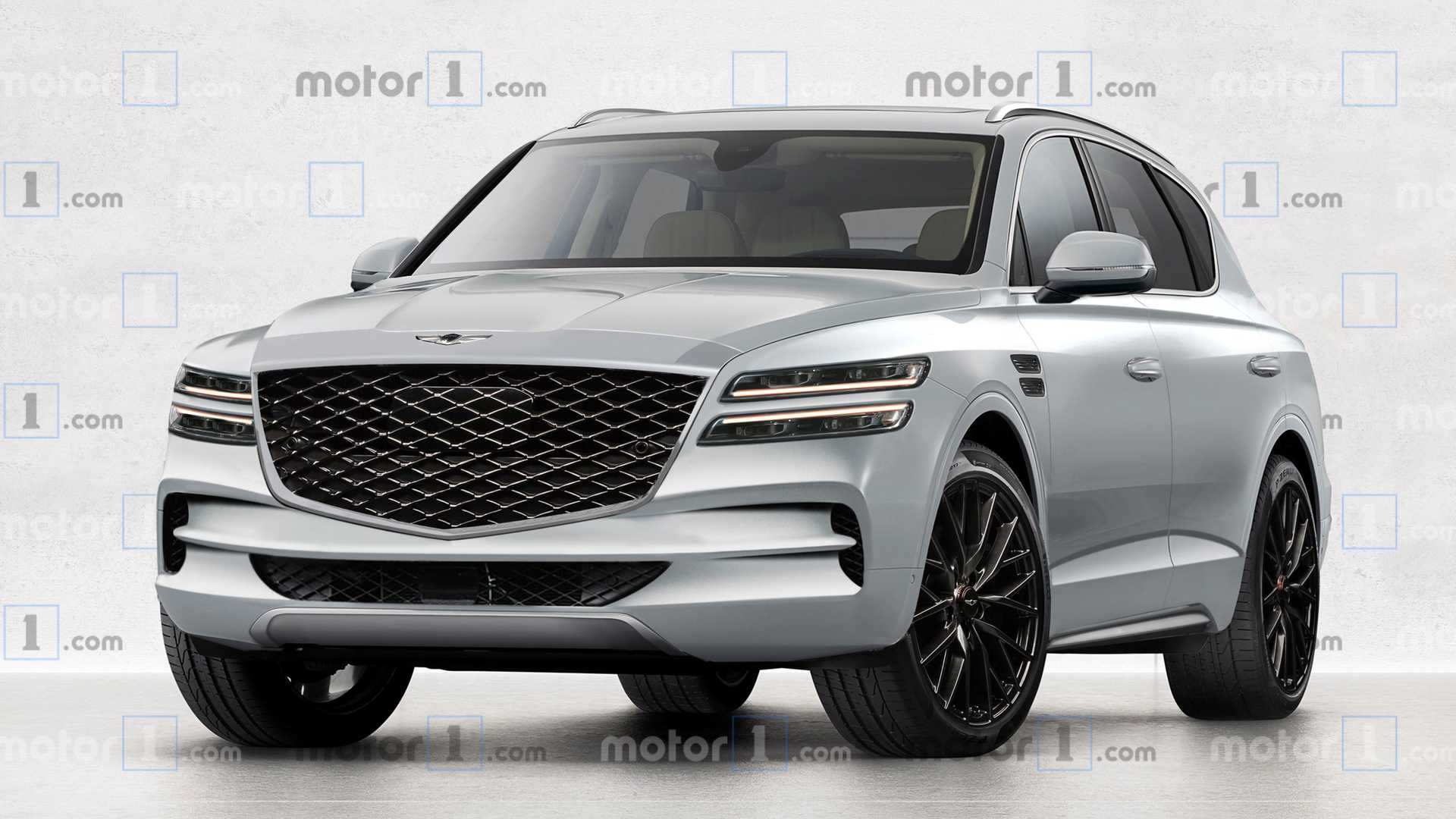 2021 Genesis Gv80 Rendered As Production Model Looks Interesting