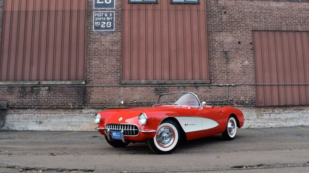 Drop the top in this ncrs worthy 1957 chevy corvette