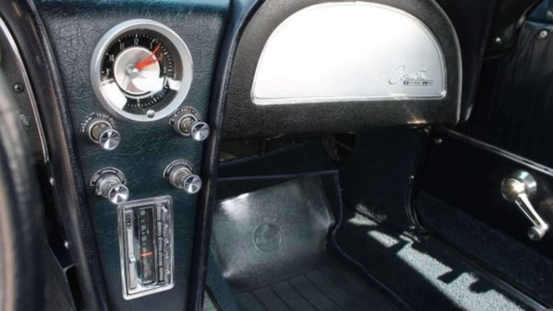 "[""Restored, Numbers-Matching Split-Window Corvette Up For Grabs""]"