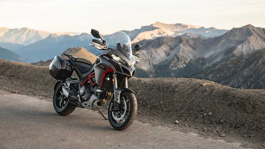 Ducati, la Multistrada 1260 S Grand Tour in azione [VIDEO]