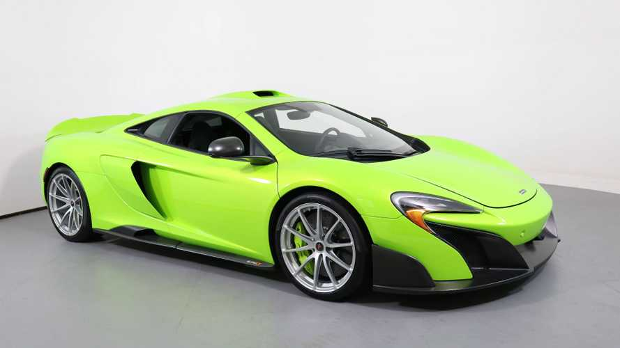 Drive Harder In A 2016 McLaren 675LT